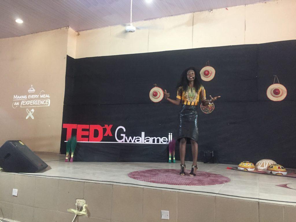 Chef Nitaa, Tedx Gwallemeji
